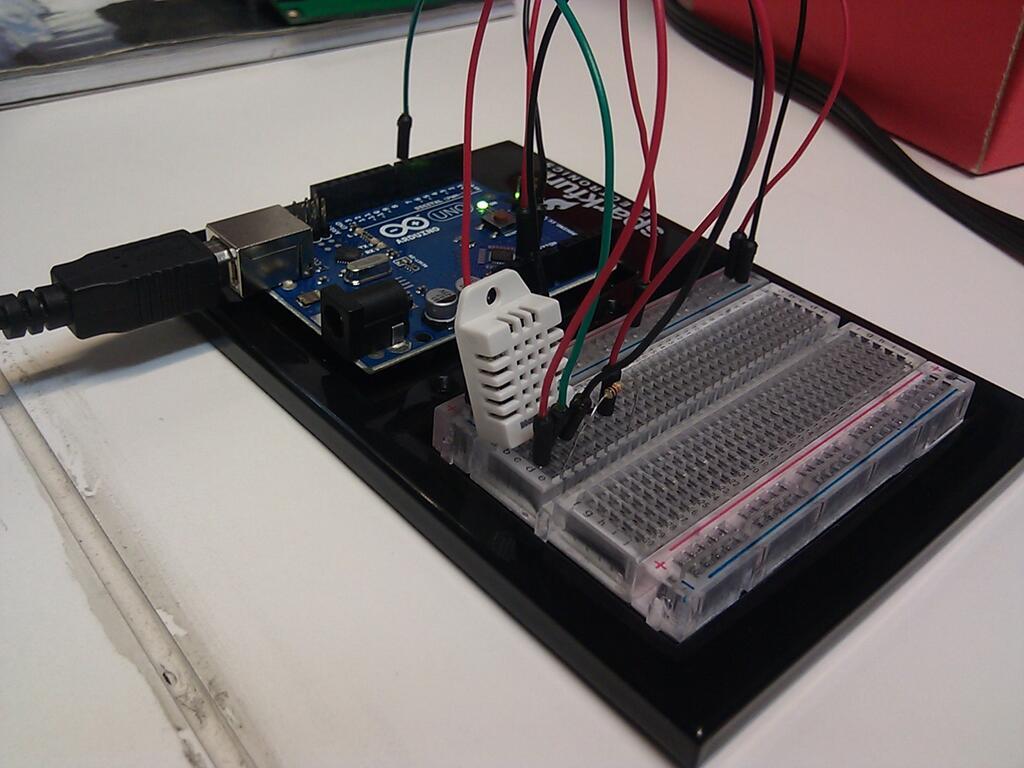 Arduino temperatura humedad